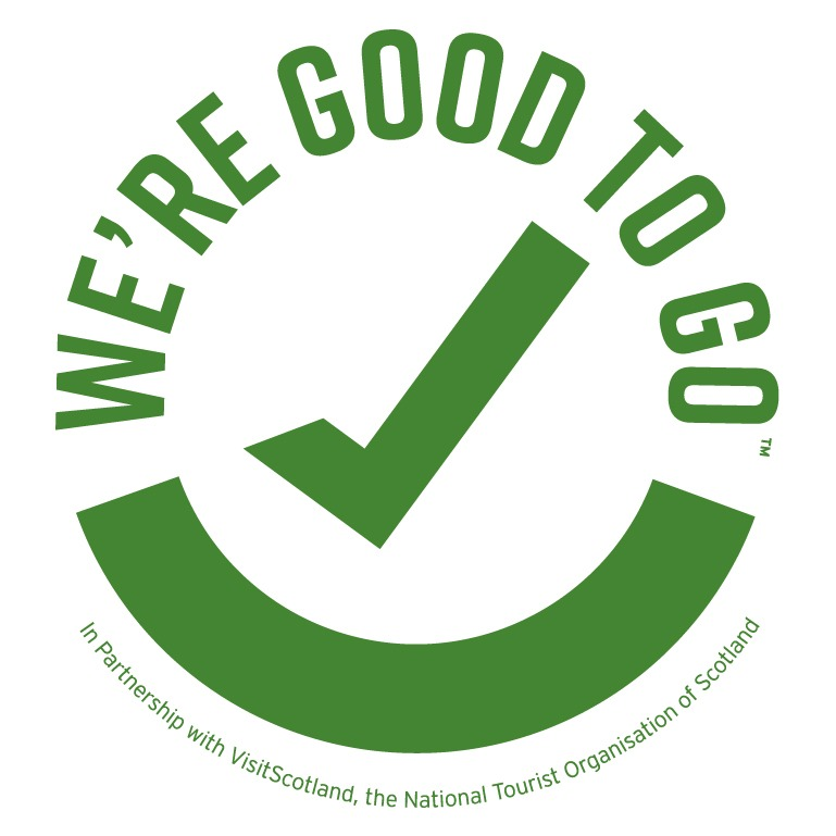 We're Good to Go - in partnership with VisitScotland, the National Tourist Organisation of Scotland